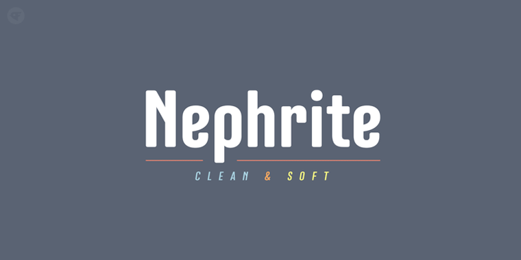 Nephrite-Regular官方样张